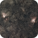 M16, M17 Wide Field With The Redcat,                                David Stephens