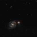 M51 Whirlpoolgalaxie,                                Patrick Hof