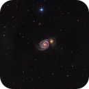 M51 in HaLRGB,                                Josh Woodward