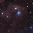 NGC1555 - Hind's variable nebula in Taurus,                                Stellario
