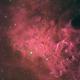 Flame nebula,                                Vlad