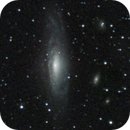 ngc 7331 - sum of 2 images of 2009 and 2007 with the C8 and the Starlight H9C,                                Stefano Ciapetti