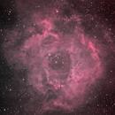 Rosette Nebula - natural color palette,                                jsines