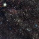 Milky way in Cygnus,                                keving