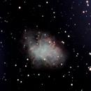 M 1 Nebulosa Granchio,                                gioveluna