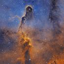 Elephant's Trunk nebula IC1396 _ rework,                                Theodore Arampatz...