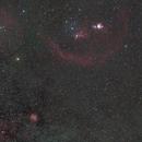 Barnard's Loop and Rosette nebula,                                Janos Barabas