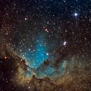 The Sorcerer (NGC7380) en SHO,                                Dieter333