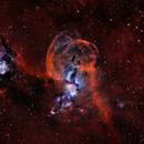 NGC 3576 - Bi Colour,                                George Varouhakis