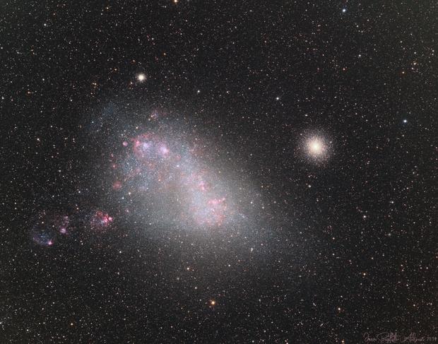 Small Magellanic Cloud & 47 Toucanae (LRGB-Ha-OIII),                                Jean-Baptiste Auroux