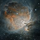M42 Orion Nebula, Smoke and Fire Edition,                                Bizzidy