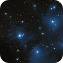 M45 The Pleiades Star Cluster,                                TheDog