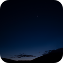 Moon and Venus over Schultz Pass,                                Anthony Quintile