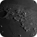Moon 2020-07-28. Plato in shadows and Vallis Alpes,                                Pedro Garcia