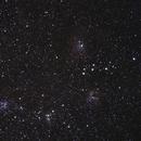 IC 410 - IC 405 (Flaming Star Nebula) - IC 417 (Mosaic),                                Jan Curtis