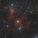 Cave nebula HaLRGB,                                lucky_s