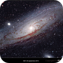 M31 20th September 2015 near Toulouse(France),                                Francis Neptunion31
