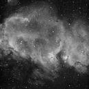 IC 1848, Soul Nebula, H-alpha,                                Eric Coles (coles44)