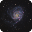 The Pinwheel Galaxy HaRGB,                                Chris Parfett @astro_addiction