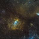 NGC7635: Bubble Nebula wide-field,                                Glenn Diekmann