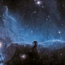 Horsehead nebula B33  SII Ha,                                Astrosatch