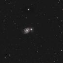 M51 Galaxie du Tourbillon, Whirlpool Galaxy,                                dagar