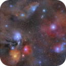 A colorful sky in the scorpion constellation,                                Henrique Silva