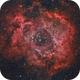 Rosette Nebula in HaRGB,                                Orestis Pavlou