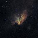 Wizard Nebula (NGC7380) narrowband,                                HaSeSky