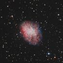 M1 - Crab Nebula - RGB-HaOIII,                                Victor Van Puyenb...