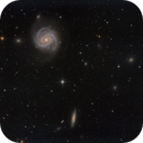 NGC4321 and Friends,                                Ron Crouch