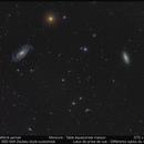 Champ de NGC 5033,                                benjamindenantes