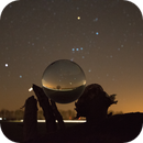 Orion in a Glass sphere,                                Michael Heimbach