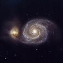 M51 Galaxia del Remolino,                                PepeLopez