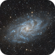 M33 - Triangulm Galaxy,                                Jeremy Wiggins