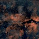 NGC 6888 to IC 1318 [section], HOO,                                Stephen Garretson