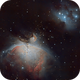 M42 and Running Man,                                Arno Rottal