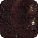Orion belt and nebulae,                                C.A.L. - Astroburgos