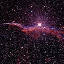 Witch's Broom or Western Veil Nebula,                                Ed Albin