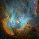 Lambda Centauri Nebula (SHO) - unleashed,                                Yann-Eric BOYEAU