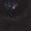 Barnard Loop &  Horsehead/Flame Nebula Widefield,                                KiwiAstro