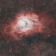 Lagoon nebula,                                Tom's Pics