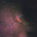 NGC 6559,                                Kathy Walker