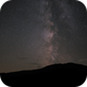 "Milky way over the ""Schneeberg"" - vacation in Austria,                                Thomas Richter"