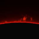 Solar prominence 08.04.2020,                                Sergei Sankov