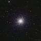 M13 Hercules Globular Cluster,                                John Travis