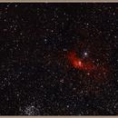 buble nebula  NGC7635,                                redman21