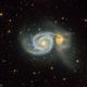 M51 Whirlpool galaxy,                                marsbymars