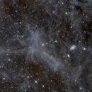 The Angel IFN. My first go at the elusive clouds lurking above our Milky Way!,                                Przemysław Majewski & teleskopy.pl