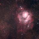 Lagoon & Trifid Nebula,                                AstroDavo